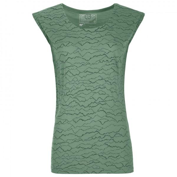 Ortovox - Women's 120 Tec Mountainlines T-Shirt - T-skjorte