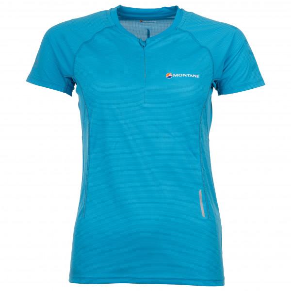 Montane - Women's Snap Zip T-Shirt - Laufshirt