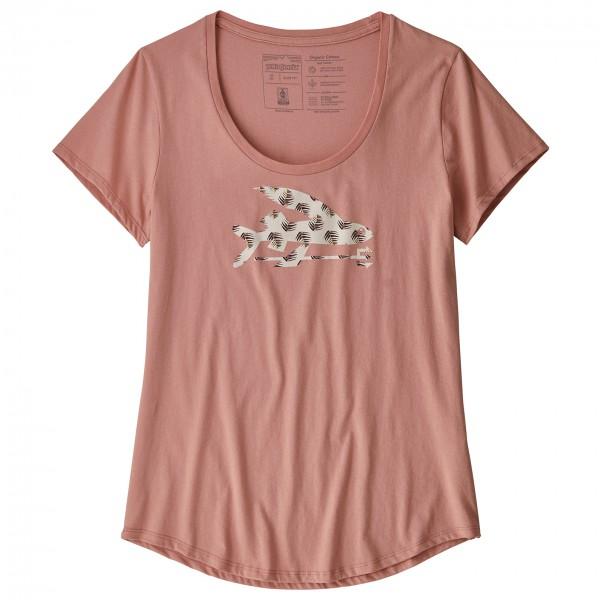 Patagonia - Women's Flying Fish Organic Scoop T-Shirt - T-shirt
