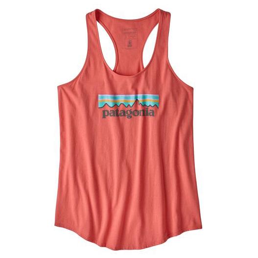 Patagonia - Women's Pastel P-6 Logo Organic Tank - Topp