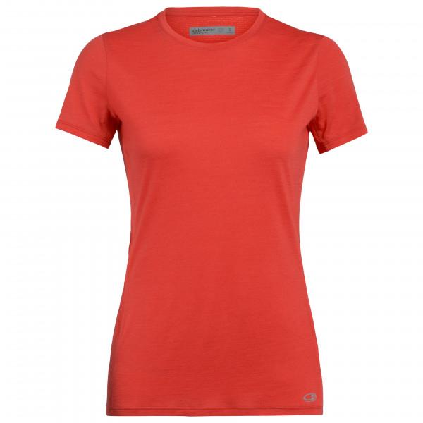 Icebreaker - Women's Amplify S/S Low Crewe - Camiseta funcional