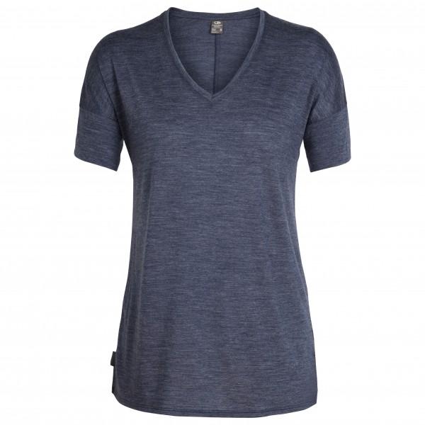 Icebreaker - Women's Solace S/S V - T-skjorte