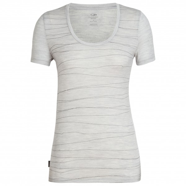 Icebreaker - Women's Tech Lite S/S Scoop Lines Landscape - T-shirt