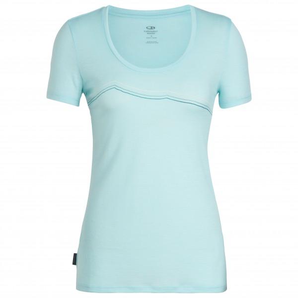 Icebreaker - Women's Tech Lite S/S Scoop Rangitoto Triple - T-shirt