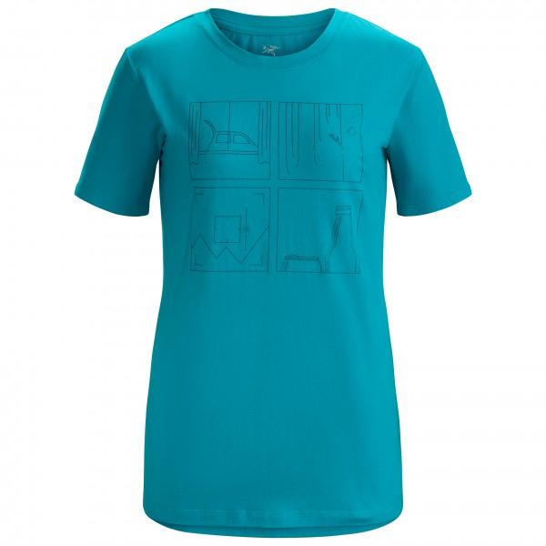 Arc'teryx - Women's Quadrants T-Shirt S/S - T-shirt