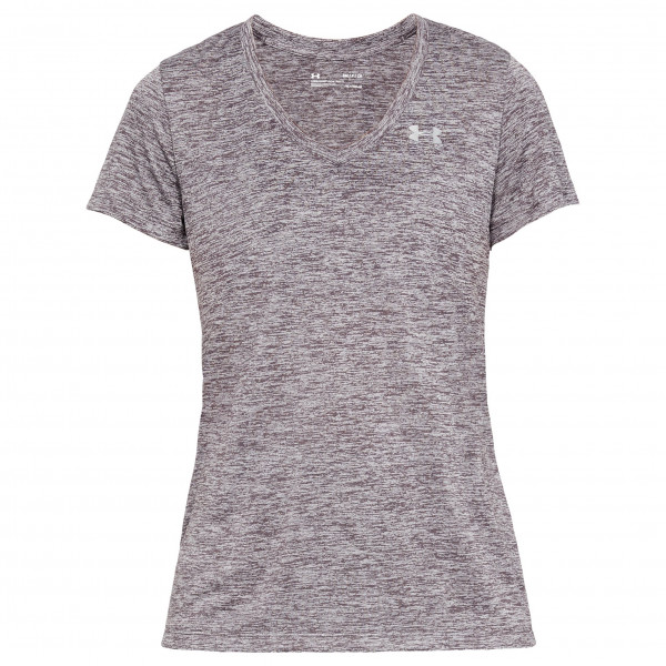 Under Armour - Women's Tech S/S V-Neck Twist - Camiseta funcional
