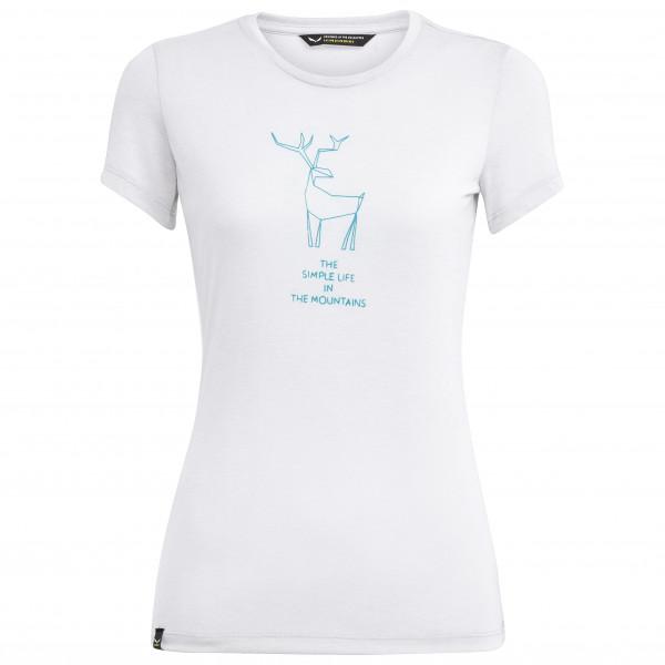 Salewa - Women's Deer Dri-Release S/S Tee - Funksjonsshirt