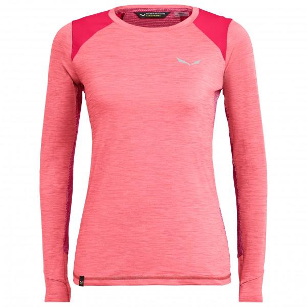 Salewa - Women's Pedroc Hybrid Dry L/S Tee - Sportshirt