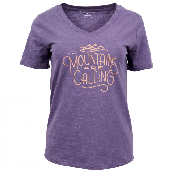 United By Blue - Women's Mountains Are Calling S/S Graphic Tee - T-shirt