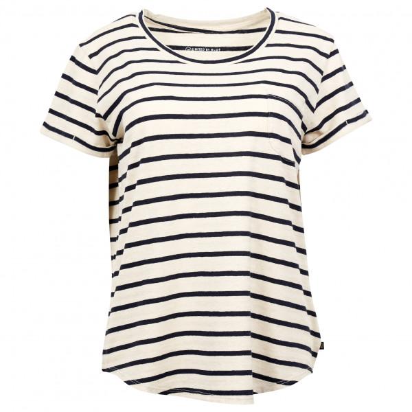 United By Blue - Women's S/S Standard Striped Pocket Tee - T-shirt