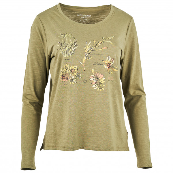 United By Blue - Women's Blossom & Berry L/S Graphic Tee - Longsleeve
