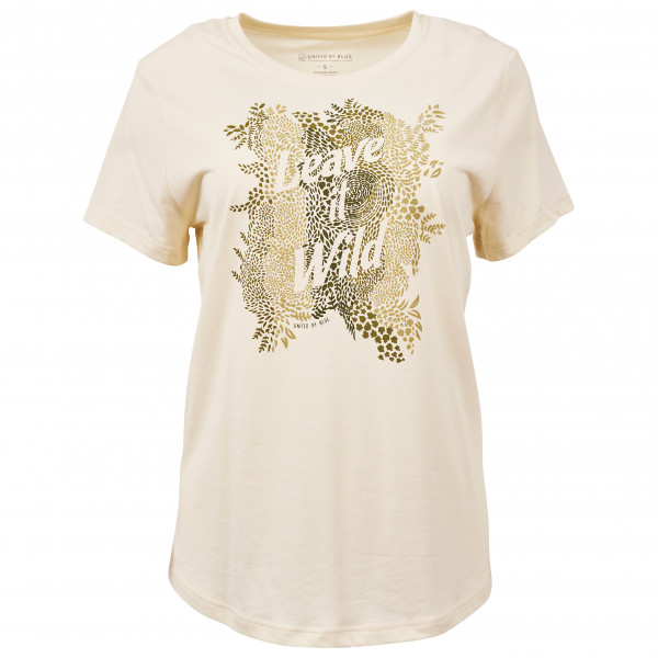 United By Blue - Women's Leave It Wild S/S 55/45 Graphic Tee - T-Shirt