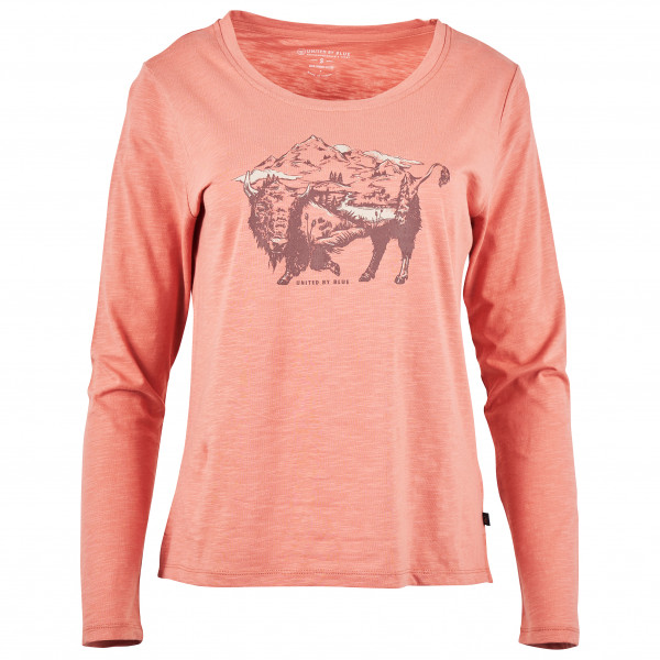 United By Blue - Women's To The Prairies L/S Graphic Tee - Longsleeve