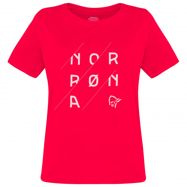 Norrøna - Women's /29 Cotton Slant Logo T-Shirt