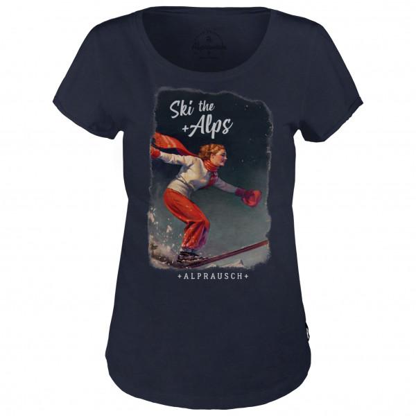 Alprausch - Women's Ski-The-Alps - T-shirt