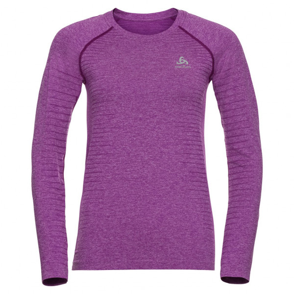 Odlo - Women's T-Shirt L/S Crew Neck Seamless Element - Sport shirt