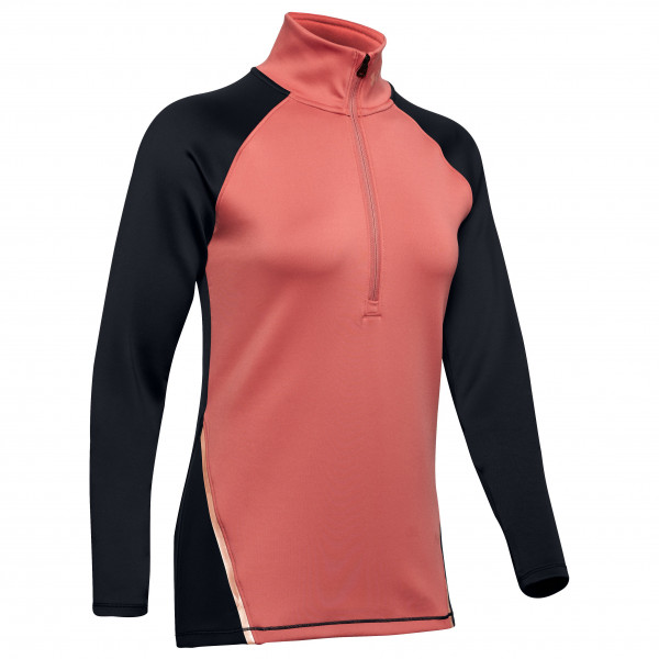 Under Armour - Women's Coldgear Armour 1/2 Zip Color Block - Sport shirt