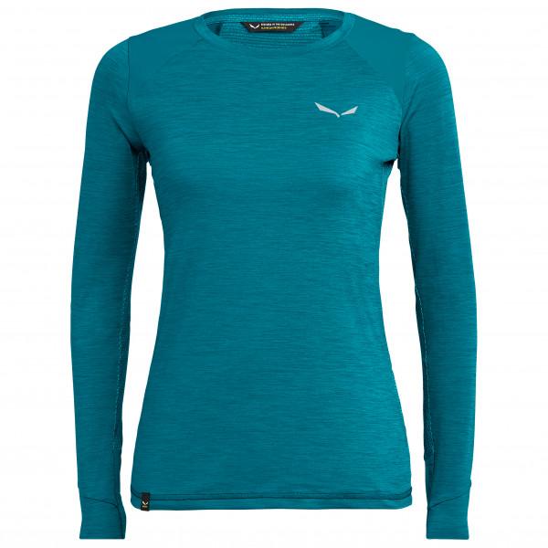 Salewa - Women's Pedroc Hybrid Dry L/S Tee - Sport shirt