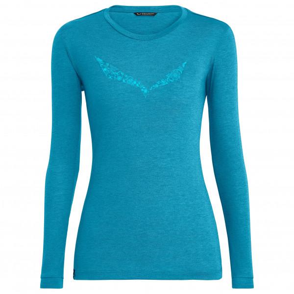 Salewa - Women's Solidlogo Dry L/S Tee - Sportshirt