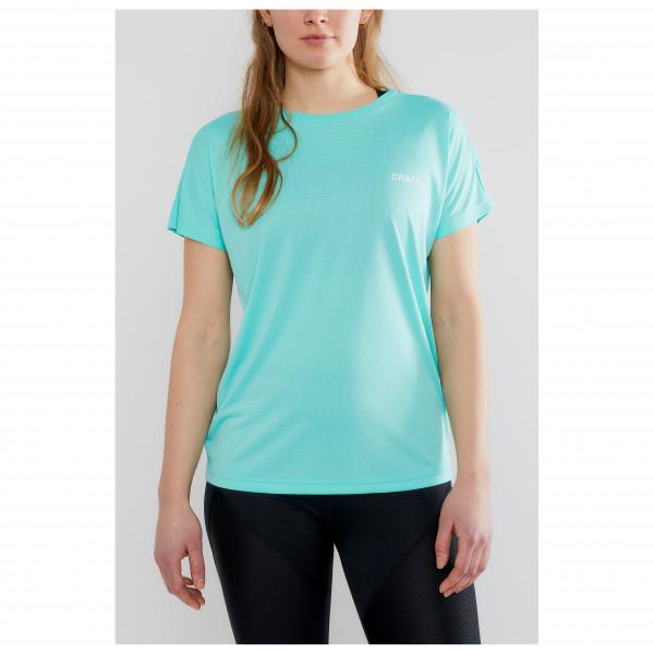 Women's Eaze S/S Logo Mesh Tee - Sport shirt