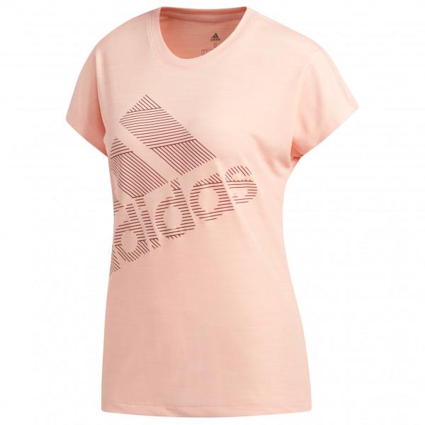 adidas - Women's S/S Badge Of Sport Logo Tee - Funksjonsshirt