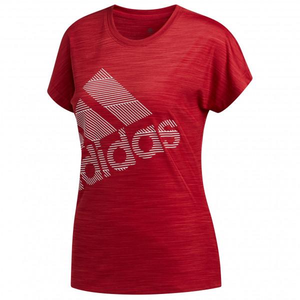 adidas - Women's S/S Badge Of Sport Logo Tee - Tekninen paita