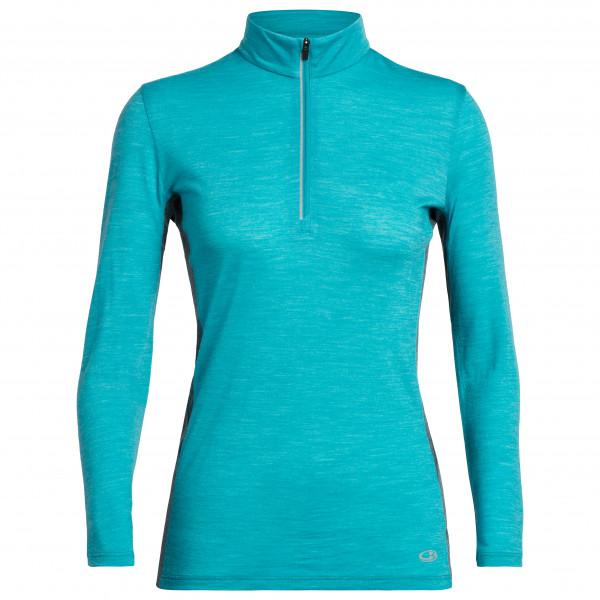 Icebreaker - Women's Amplify L/S Half Zip - Sport shirt
