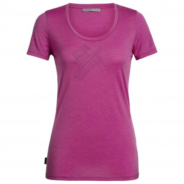 Icebreaker - Women's Tech Lite S/S Scoop Snap Head - T-Shirt