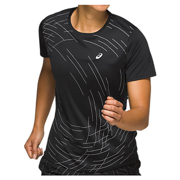 Asics - Women's Night Track S/S Top - Camiseta de running