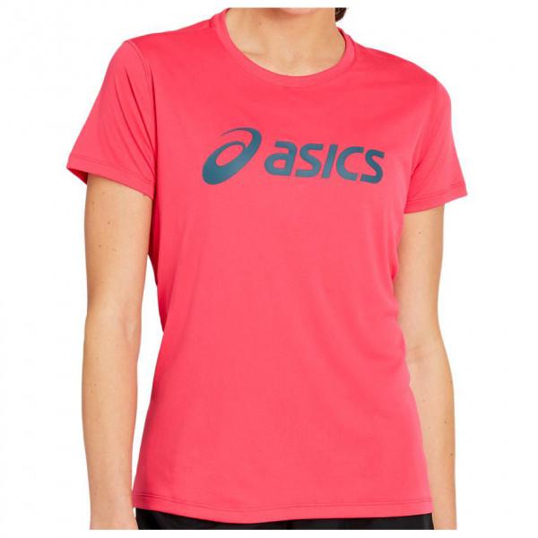 Women's Silver Asics Top - Running shirt