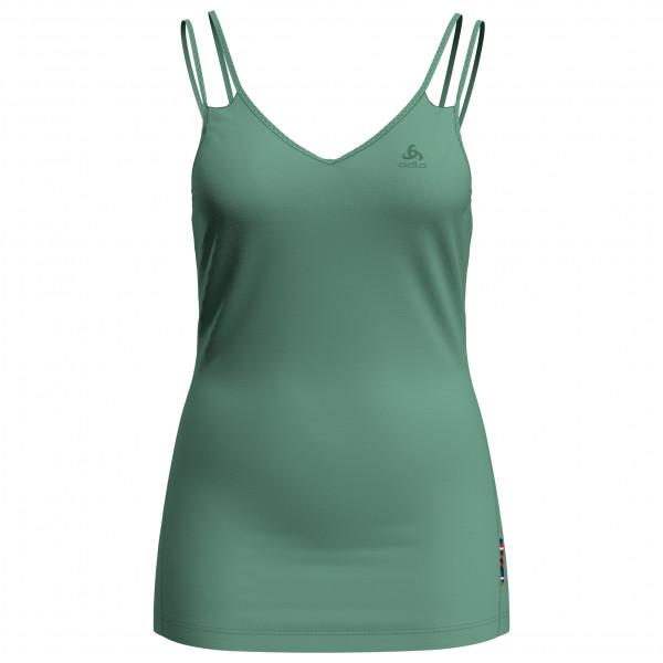 Odlo - Women's Suw Top V-Neck Singlet Natural + Light - Tank Top