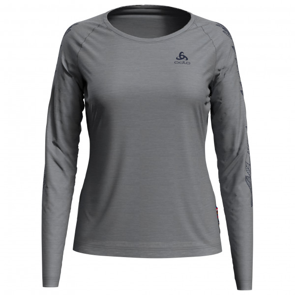 Odlo - Women's T-Shirt L/S Crew Neck Concord - Longsleeve
