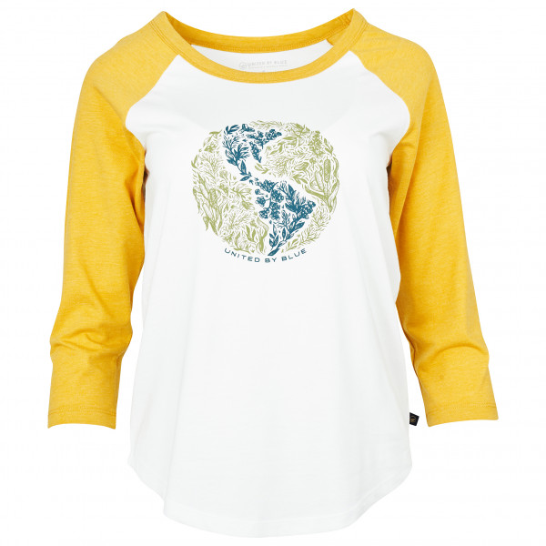 United By Blue - Women's Rooted In Nature 3/4 Baseball Tee - Longsleeve