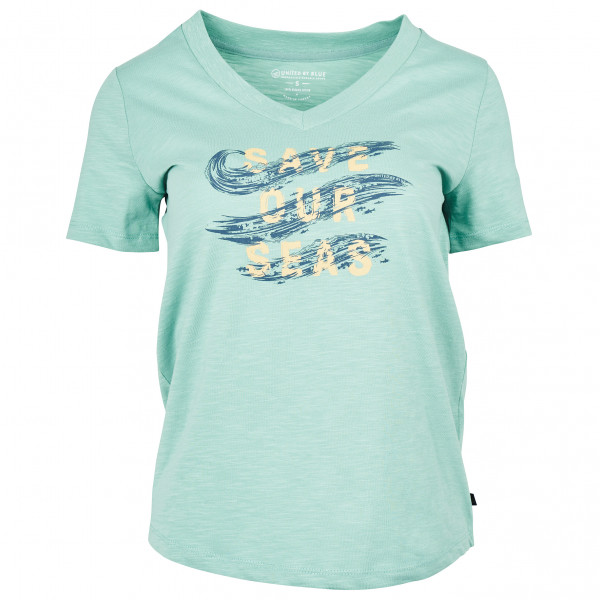 United By Blue - Women's Save Our Seas S/S Graphic V-Neck - T-Shirt