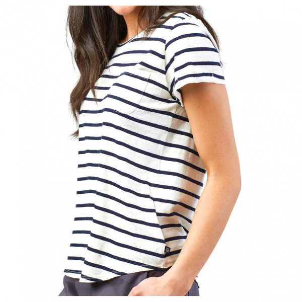 United By Blue - Women's Striped Pocket Tee - T-Shirt