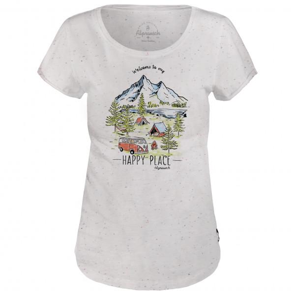 Alprausch - Women's Happy Camper Basic Tee - T-shirt