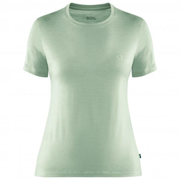 Fjällräven - Women's Abisko Wool S/S - T-shirt