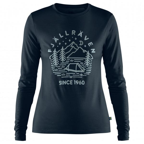 Fjällräven - Women's Abisko Wool Tältplats L/S - Camiseta de manga larga