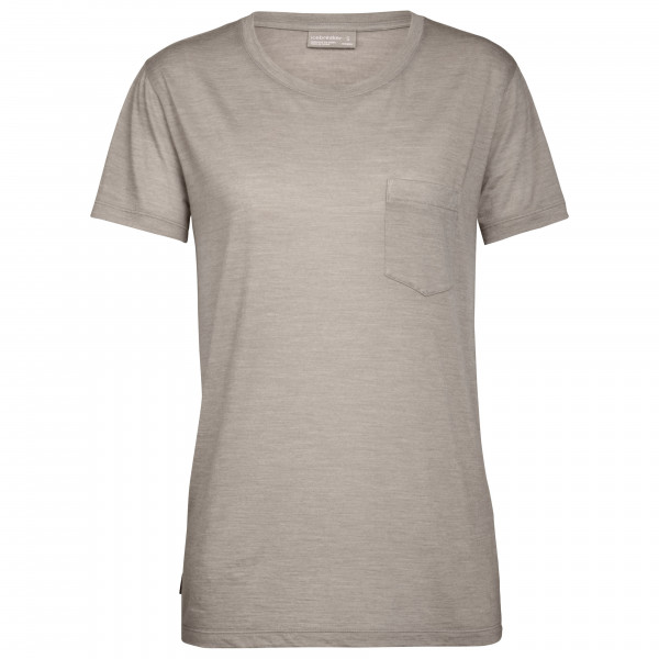 Icebreaker - Women's Nature Dye Drayden S/S Pocket Crewe - T-shirt