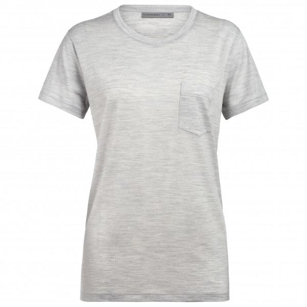Icebreaker - Women's Ravyn S/S Pocket Crewe - Camiseta de manga corta