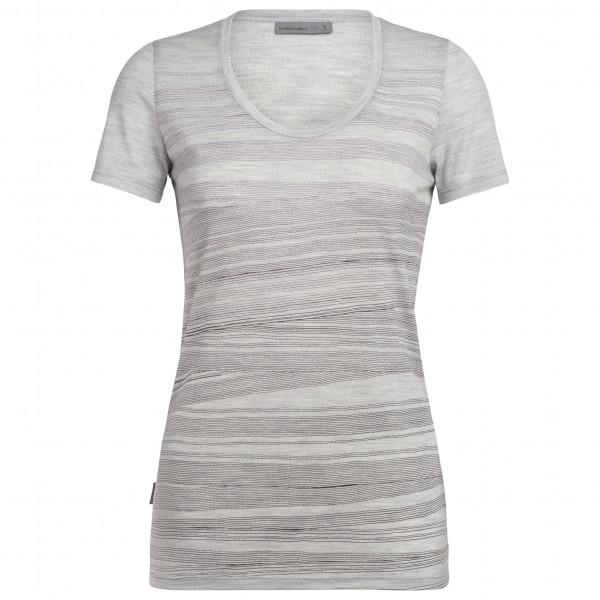 Icebreaker - Women's Tech Lite S/S Scoop 1000 Lines - T-shirt