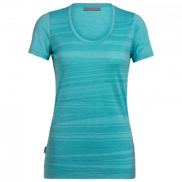 Icebreaker - Women's Tech Lite S/S Scoop 1000 Lines - T-Shirt