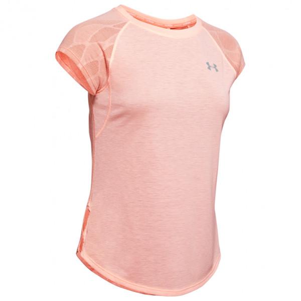 Under Armour - Women's UA Streaker 2.0 Shift S/S - Camiseta funcional