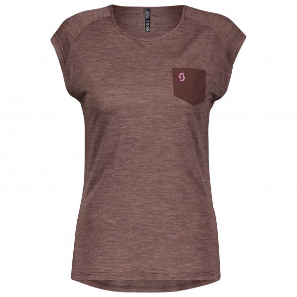 Scott - Women's Trail Shirt MTN Merino S/S - Sport shirt
