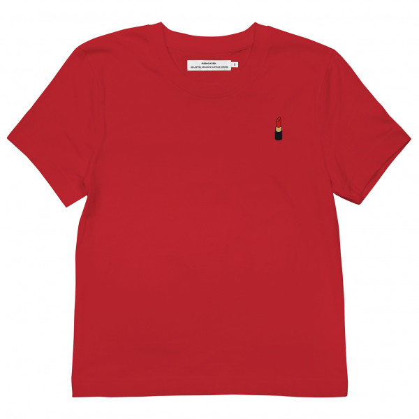 DEDICATED - Women's T-Shirt Mysen Lipstick - T-shirt