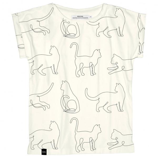 DEDICATED - Women's T-Shirt Visby Cat Lines - T-shirt