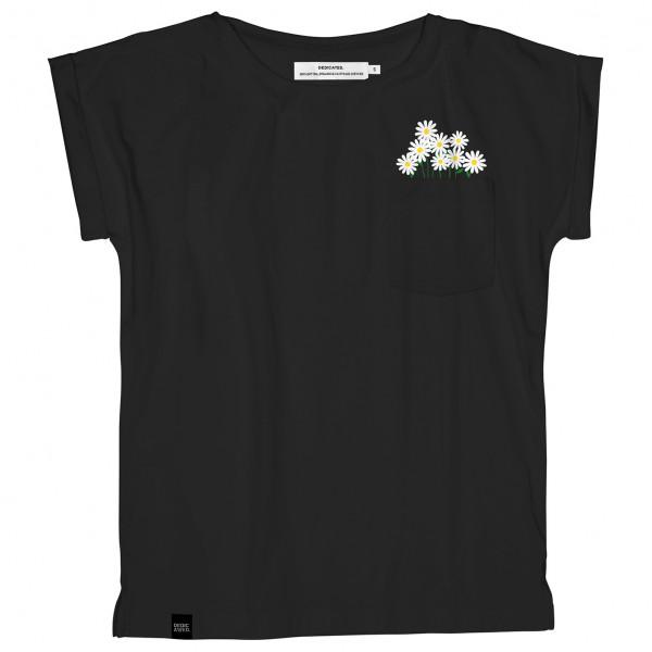 DEDICATED - Women's T-Shirt Visby Flower Pocket - T-shirt
