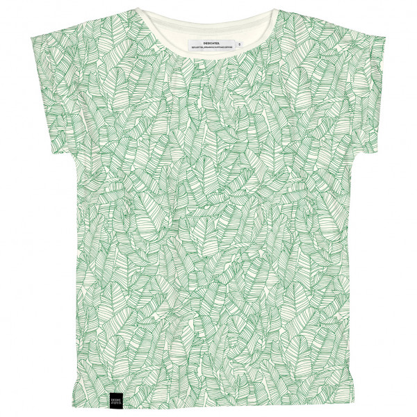DEDICATED - Women's T-Shirt Visby Palm Leaves - T-paidat