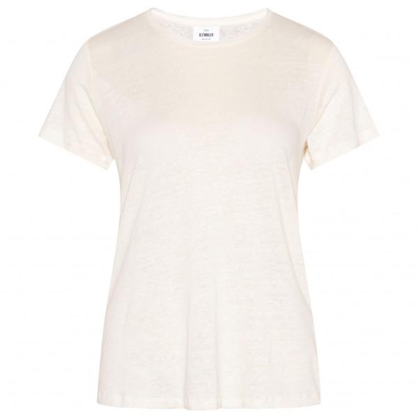 Klitmøller Collective - Women's Rikke Linen / Cotton Tee - Camiseta de manga corta