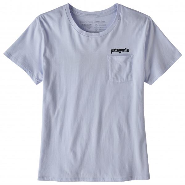 Patagonia - Women's Fitz Roy Far Out Organic Crew Pocket - T-shirt